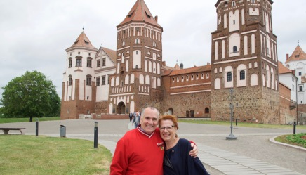 Irina and I at Mir Castle