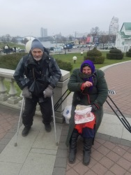 Homeless in Minsk