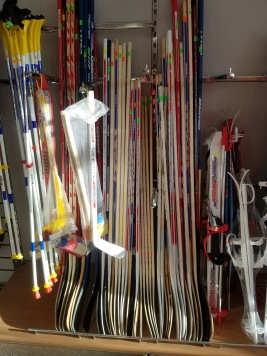 First Hockey Sticks I found in Minsk