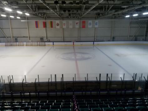 Major Junior Hockey Rink
